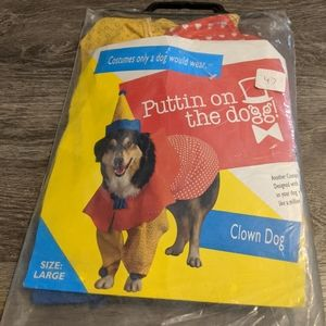 Dog clown costume